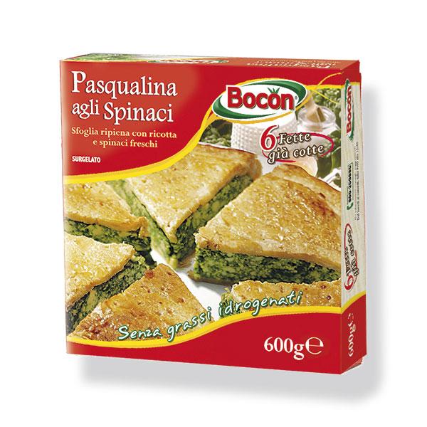 Pasqualina Agli Spinaci Bocon