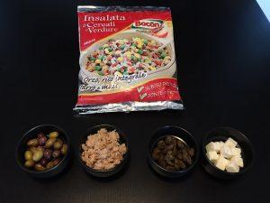 ricetta insalata di cereali