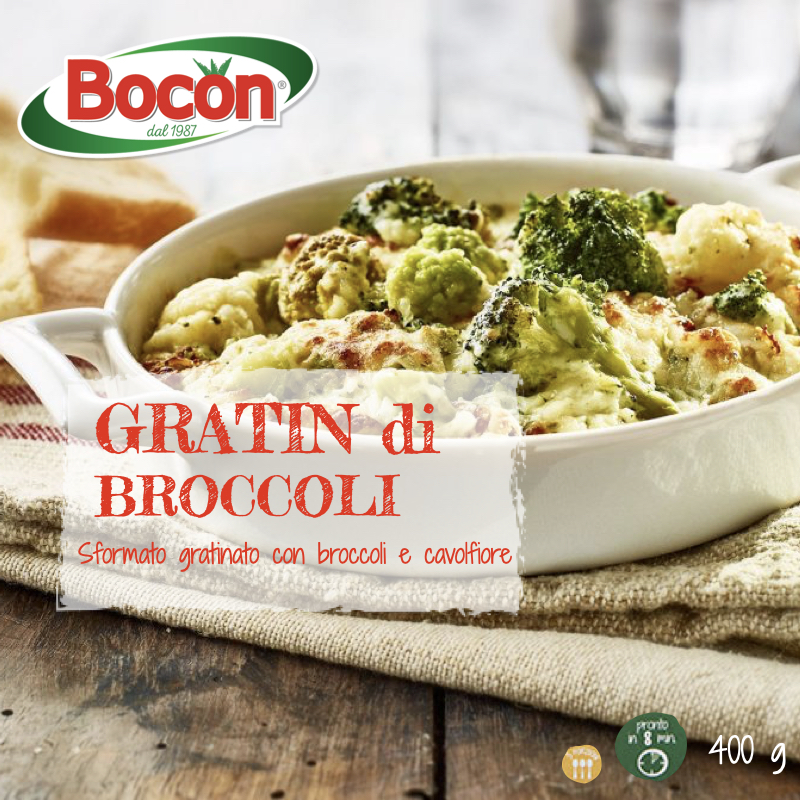 fronte pack gratin di broccoli
